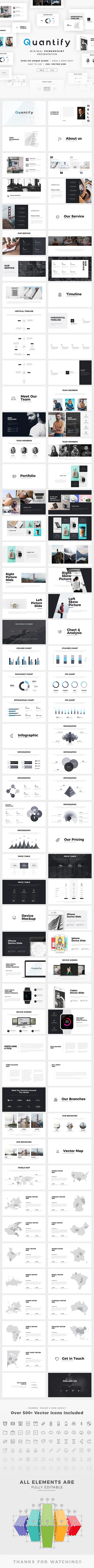 Quantify Powerpoint - PowerPoint Templates Presentation Templates