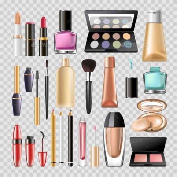 Makeup Cosmetics Woman Make-up Skincare Accessory - Miscellaneous Vectors