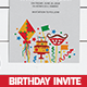 60th Birthday Party Invitation - GraphicRiver Item for Sale