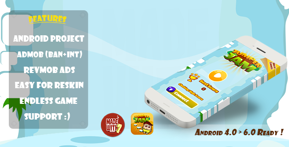 Jumper Jam Game Template (ANDROID+ADMOB+REVMOB+CHARTBOOST) - CodeCanyon Item for Sale