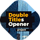 Double Titles Parallax Presentation - VideoHive Item for Sale