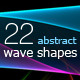 Abstract Wave Shapes - GraphicRiver Item for Sale
