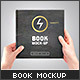 Square Book Mock-Up - GraphicRiver Item for Sale