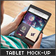 Realistic Tablet Mock-Up - GraphicRiver Item for Sale