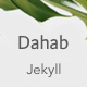Dahab - Minimal Blog and Magazine Jekyll Theme