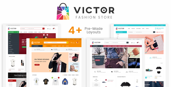 Victor - eCommerce Fashion Template - Fashion Retail