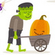 Set of Halloween Symbols and Characters - GraphicRiver Item for Sale