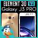 Samsung Galaxy J3 PRO for Element 3D - 3DOcean Item for Sale