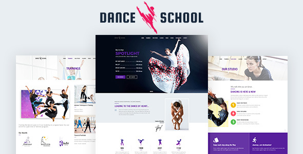 Dance Studio WordPress Theme (Art)