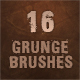 16 Grunge Brushes for Photoshop - GraphicRiver Item for Sale