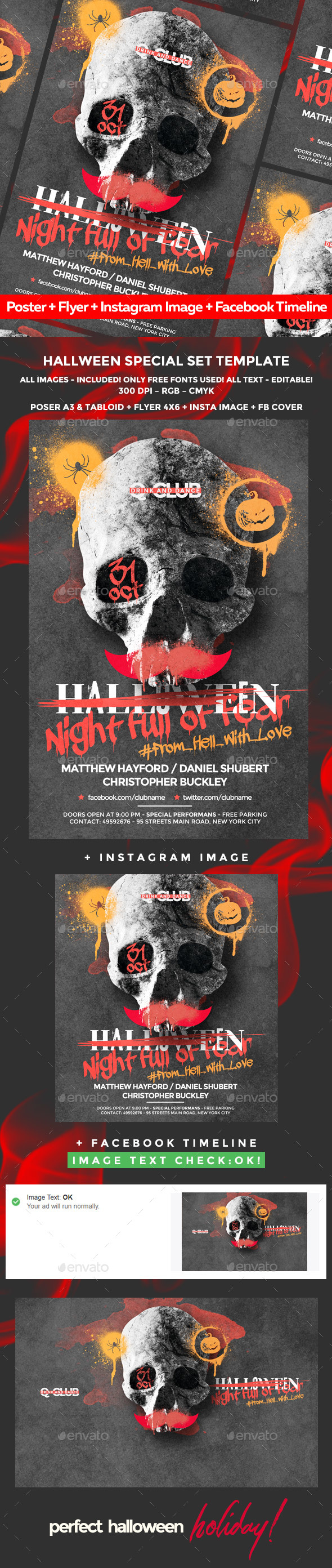 Halloween Poster - Holidays Events