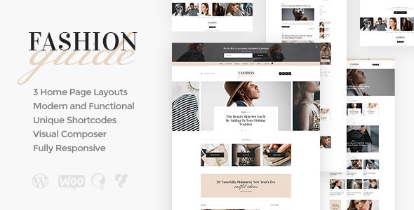 Fashion Guide Online Magazine Lifestyle Blog By Ancorathemes Themeforest