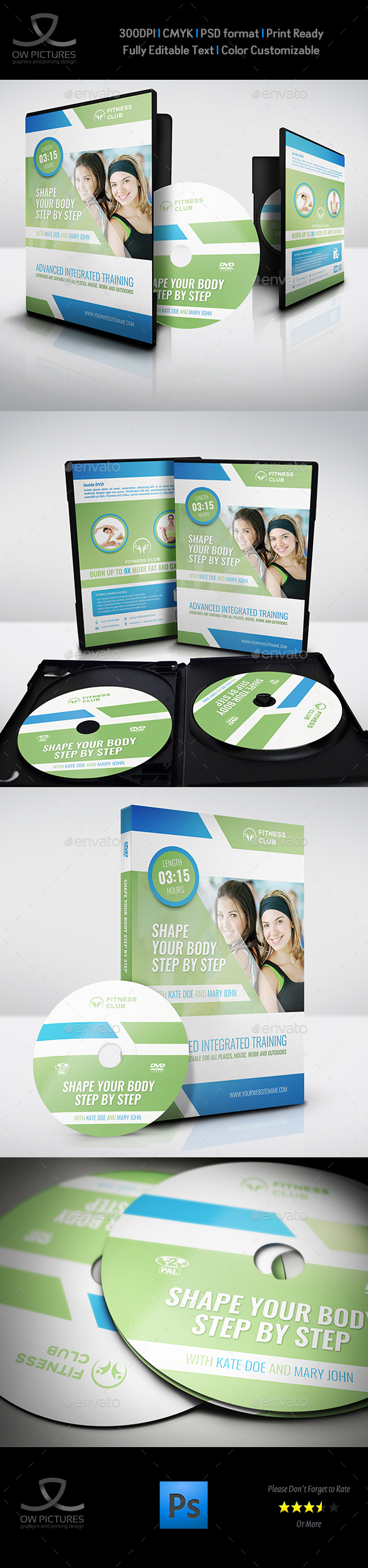 GraphicRiver Training Course DVD Template Vol.3 20556226
