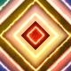 Colorful Wave Loop Background