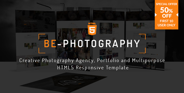 Image of Be-Photography | Creative Photography Agency, Portfolio and Multipurpose HTML5 Responsive Template