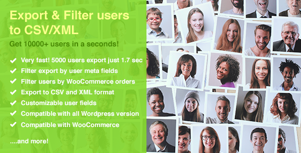 Quick User Export & Filter - CodeCanyon Item for Sale