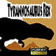 Dinosaur Tyrannosaurus Rex, Walking Loop - VideoHive Item for Sale
