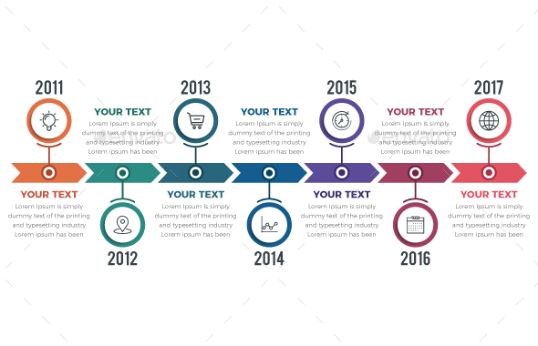 GraphicRiver Timeline Infographics 20556884