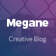 Megane - Creative HTML5 Blog Template