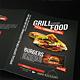 Grill BBQ Bifold Food Menu - GraphicRiver Item for Sale