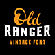 Old Ranger Font - GraphicRiver Item for Sale