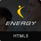 Energy - Responsive HTML5 Fitness Template - ThemeForest Item for Sale