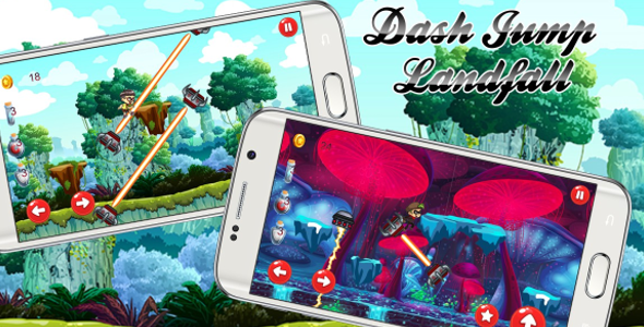 Dash Jump Landfall ANDROID (Admob + Eclipse) (Android)