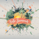Hello Summer-Paint Slideshow - VideoHive Item for Sale
