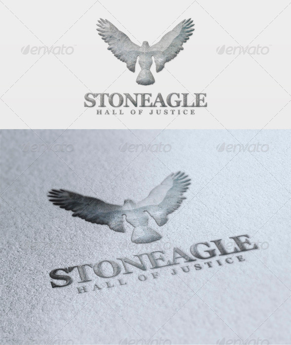 Stone Eagle Logo - Animals Logo Templates