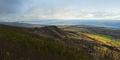 Top mountain Panorama - Gaspe Peninsula