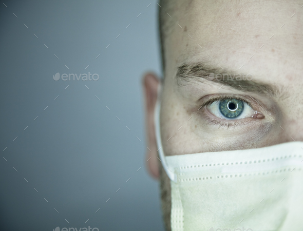 Doctor or Patient Eye Looking at You - Stock Photo - Images