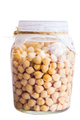 Soaked Sprouting ChickPeas