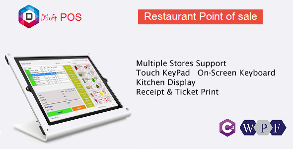 CodeCanyon Rest POS Restaurant Point of Sale WPF Application 20558545