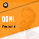 QONI - Personal Muse Template - ThemeForest Item for Sale
