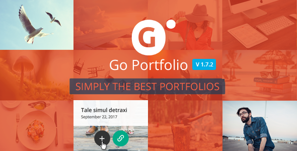 Go Portfolio - WordPress Responsive Portfolio - CodeCanyon Item for Sale
