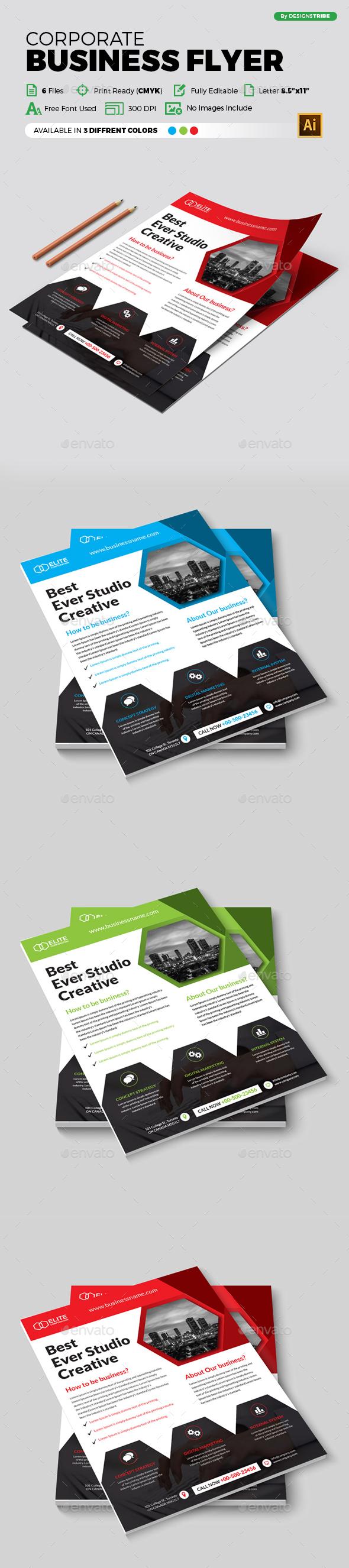 Flyer – Multipurpose 336 - Flyers Print Templates