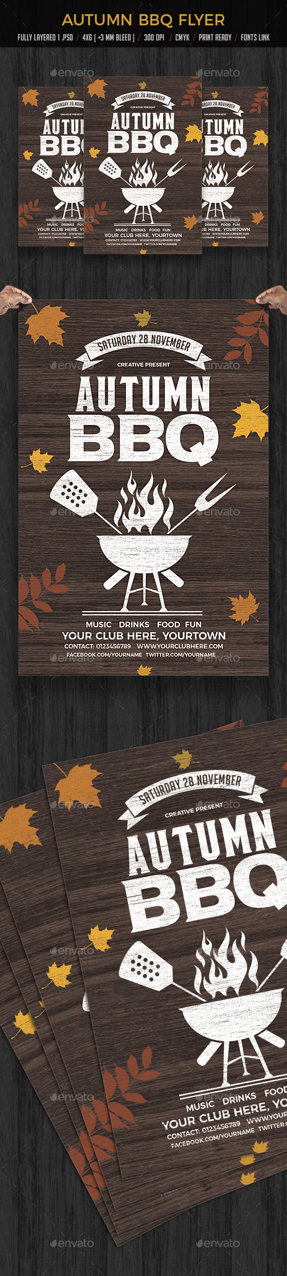 Autumn BBQ - Clubs & Parties Events