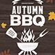 Autumn BBQ - GraphicRiver Item for Sale