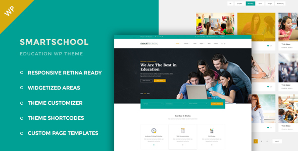 Smartschool - Education WordPress Theme