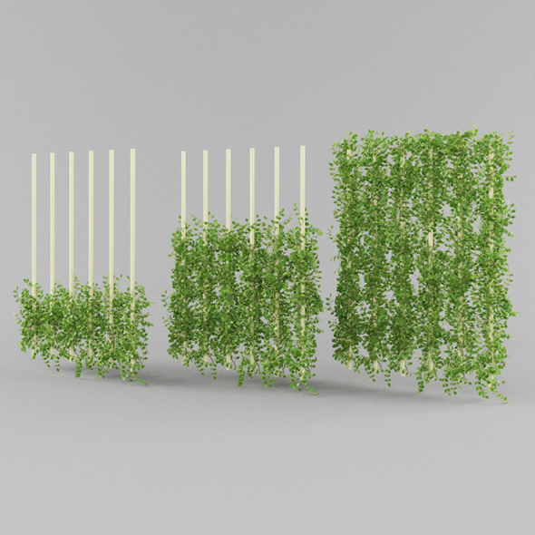 Vray Ready Plants Bush - 3DOcean Item for Sale