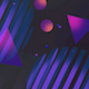 Purple Geometric Shapes Background - VideoHive Item for Sale