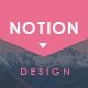 NOTION - Simple Creative Keynote Presentation Template - GraphicRiver Item for Sale
