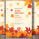 Autumn Dinner Party Invitations