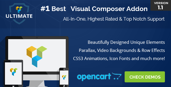 Ultimate Addons for OpenCart Visual Composer - CodeCanyon Item for Sale