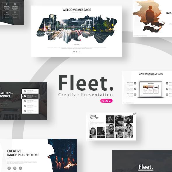 Fleet - Powerpoint Template - Business PowerPoint Templates