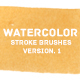 Watercolor Paint Brush Strokes Ver. 1 - GraphicRiver Item for Sale
