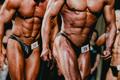 Athletes bodybuilder