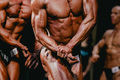 Athletes bodybuilders
