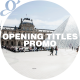 Opening Titles I Promo - VideoHive Item for Sale