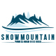Snow Mountain Logo Template